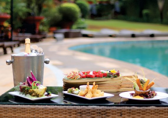 Enjoy Lavish Sunday Brunch by the Pool!