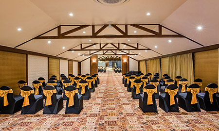 maratha banquet at della resorts