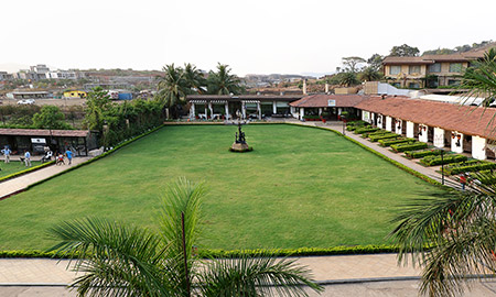PNF lawn at della resorts